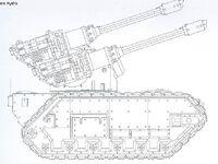 Modelo Tanque Antiaéreo Hydra de StygiesVIII