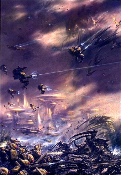 Tiranidos flota gorgona vs tau 02