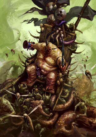 Caos demonio nurgle epidemius