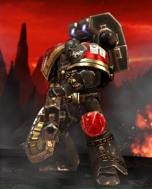 Heavy Bolter Dawn of War 2 custom icon Space Marines Retribution Martillos de Wikia