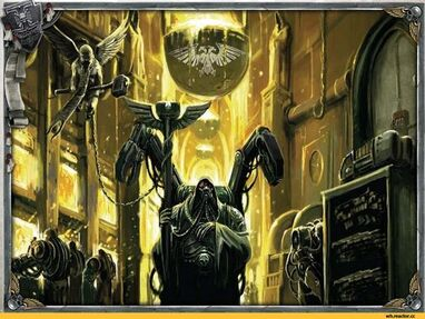 Mechanicum mundo forja fundicion