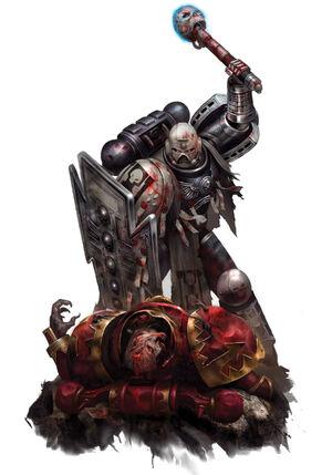 Mercur Fantasmas Estelares Guardianes Muerte acaba con Berserker Khorne