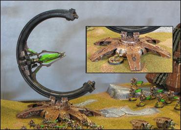 Miniatura Pilon Gauss Guerreros Necrones Wikihammer