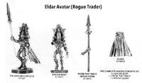 Avatar de Khaine Eldar 1ª Edición miniatura