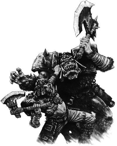Kavador luchando contra Orko
