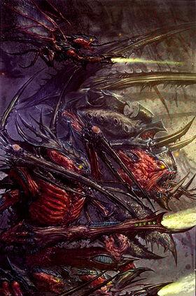 Tiranidos flota enjambre behemot