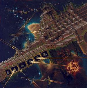 Barcaza de Plaga Guardia de la Muerte Nurgle David Deen ilustración