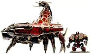 Caos escorpion de bronce comparacion dreadnought