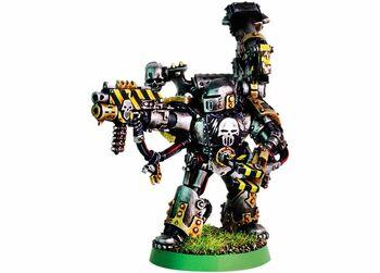 Caos miniatura Herrero de Guerra de los Guerreros de Hierro