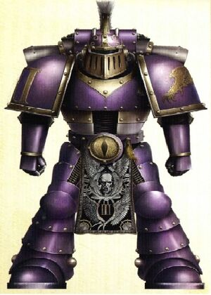 Decano Grythan Thorn Hijos del Emperador Conquista de Kobal
