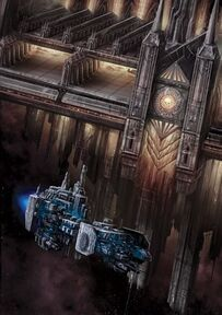Flota barcaza batalla fortaleza espacial wikihammer