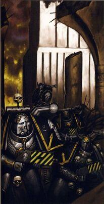 Guerreros de hierro marines del caos