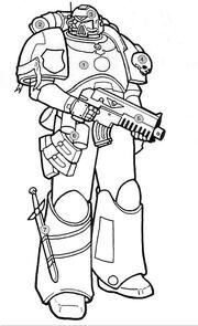Servoarmadura Marine Espacial Wikihammer