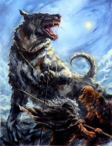 Thunderwolf Wikihammer 40K