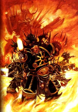 Caos legion negra marines del caos batalla