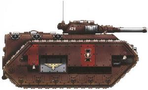 Inquisición Chimera con cañones automaticos