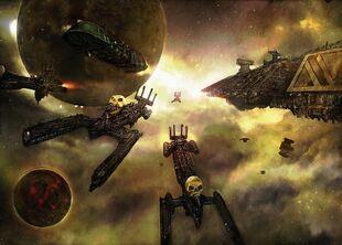 Caos flota de khorne