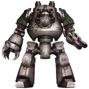 Lhorgath Dreadnought Contemptor Guardia de la Muerte