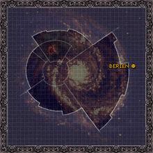 Mapa galaxia berien