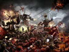 Orkos klan goff vs tau