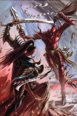 Eldar oscuro guerras de cábalas