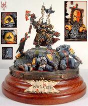 Miniatura campeon legion negra
