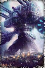 Titán Warlord en combate