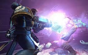 Ultramarine con arma de plasma juego