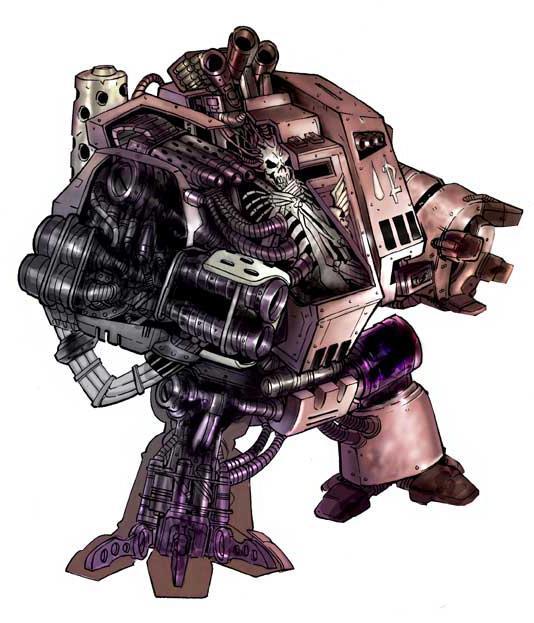 Dreadnought por dentro Warhammer 40k Wikihammer