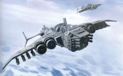 Guardia imperial Marauder misiles hellstrike