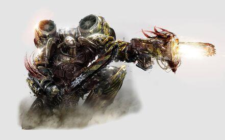 Caos guerrero de hierro (2)