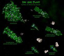 Orkos flota tipos