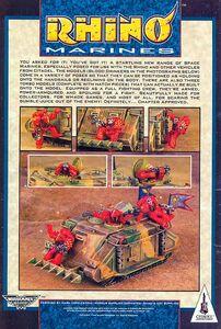 Rhino Marines Bebedores de Sangre 1ª Edición miniaturas