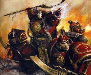 Ahriman Pre-Herejía luchando