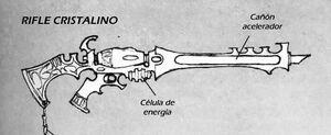 Rifle cristalino