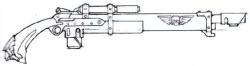 Rifle láser modelo Vostroya