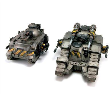 Tanque de batalla sicaran comparativa predator preherejia