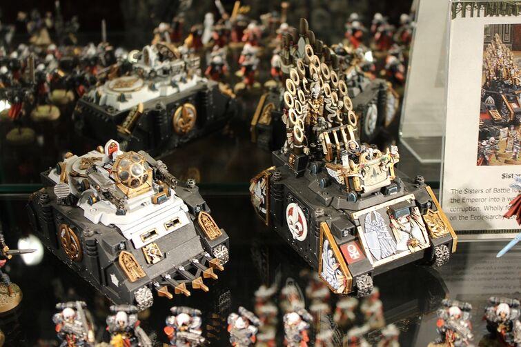 Warhammer World Nottingham Wikihammer Hermanas de Batalla
