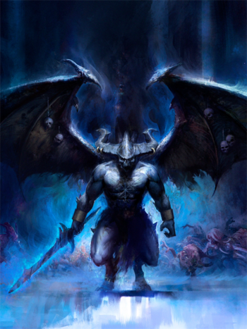 Be'lakor Príncipe Demonio Horrores de Tzeentch