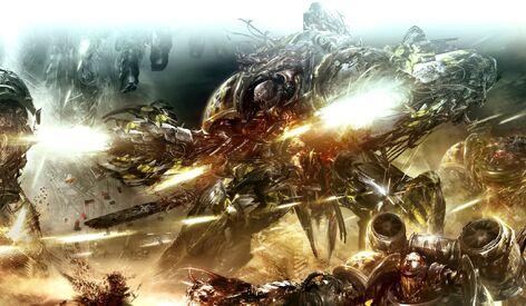 Caos arrasador guerreros de hierro