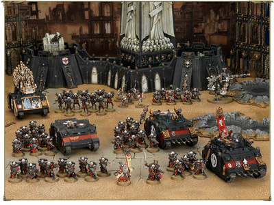 Ejército miniaturas Hermanas de Batalla Uriah Jacobus