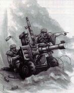 Incursores con cañón automático