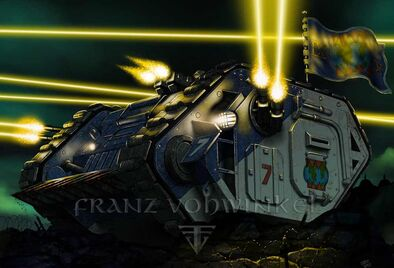 Land raider devoradores