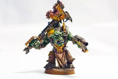 Orko guerrero miniatura wikihammer