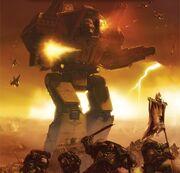 Titan Warlord campo batalla