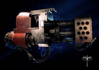 Arma lanzallamas pesado