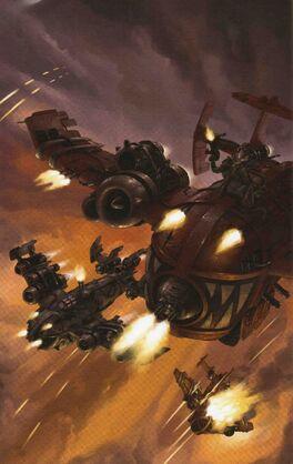 Bombardero Orko color volador warhammer 40k wikihammer