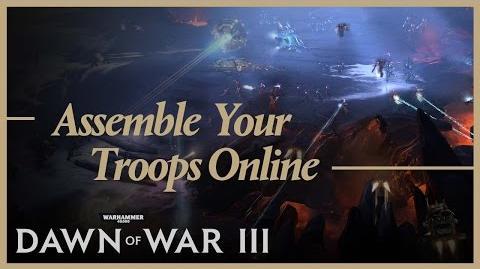 FiliusLunae/Reúne a tus tropas y demostración multijugador de Warhammer 40,000: Dawn of War III