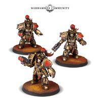 Exterminadores Aquilon destructor adráthico Legio Custodes Forge World miniaturas