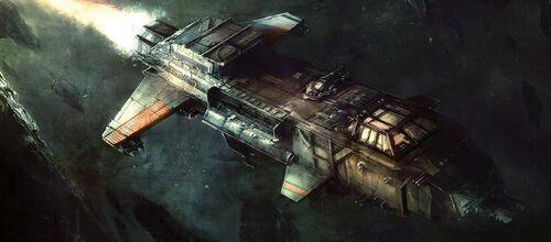 Flota bombardero Starhawk
